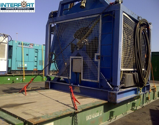 Lashing, Securing and Stuffing Services